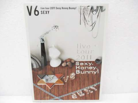 V6 DVD LIVE TOUR 2011 Sexy.Honey.Bunny! 初回限定生産 SEXY盤