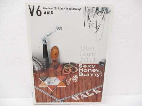 V6 DVD LIVE TOUR 2011 Sexy.Honey.Bunny! 初回限定生産 WALK盤