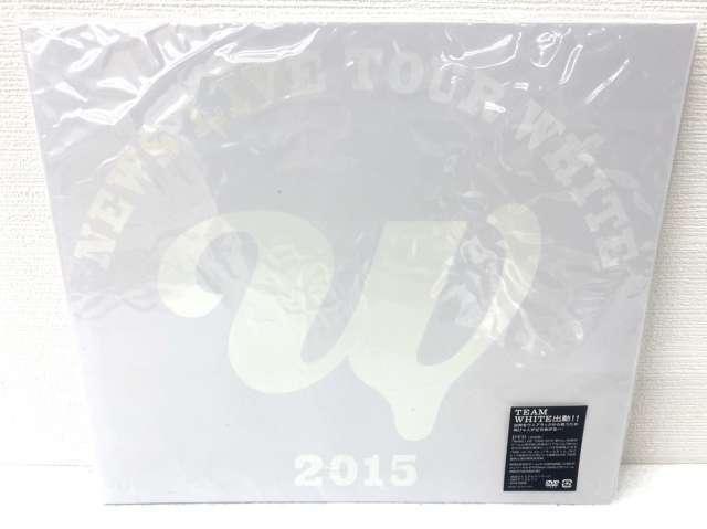 NEWS DVD・Blu-ray LIVE TOUR 2015 White 初回盤