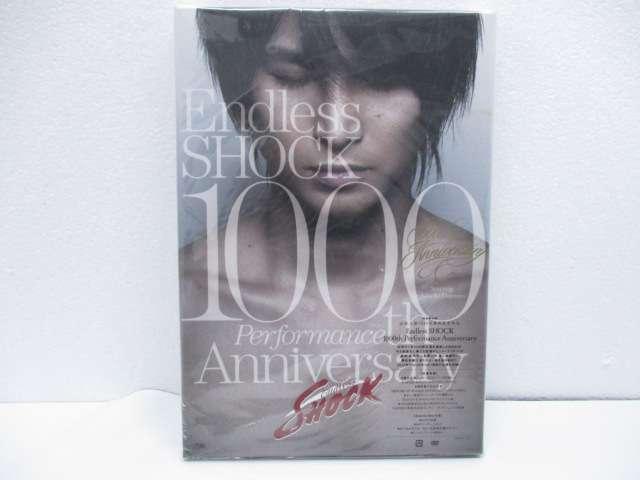 Kinki Kids 堂本光一 DVD/Blu-ray Endless SHOCK 1000th Performance Anniversary 初回限定盤