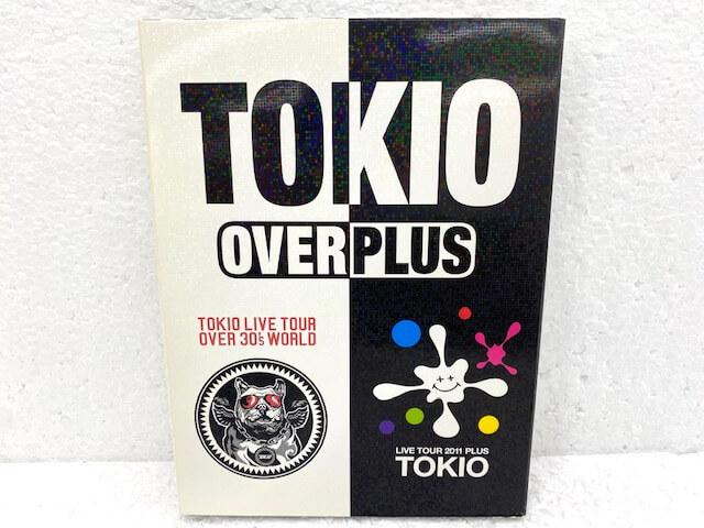 TOKIO DVD OVER/PLUS 初回限定盤