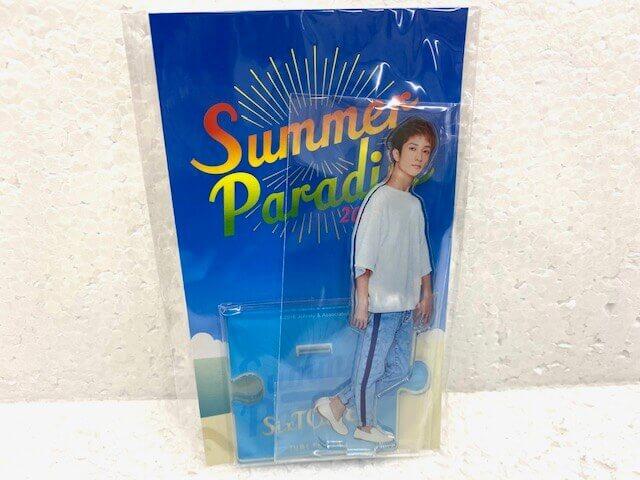 SixTONES 田中樹 Summer Paradise 2018 アクリルスタンド 未開封